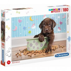 Clementoni puzzle Lovely Puppy 180 pieces