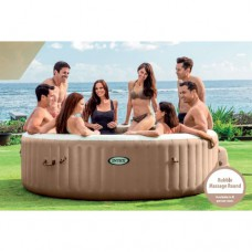 Bubble Massage PureSpa Intex inflatable round 8 persons