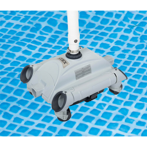 Stofzuiger wagentje intex for Robot piscine intex 28001
